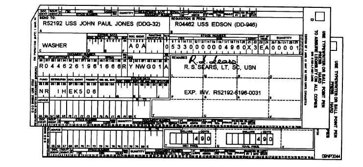 navsup p-409